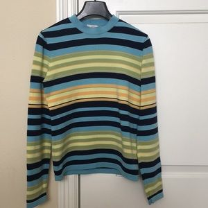J. Crew Striped Sweater Size M